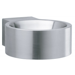 Wash basin round mural stainless steel design