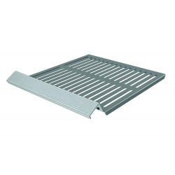 Grille support inox