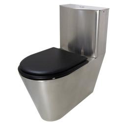 Pack WC stainless steel floor standing ULTIMA