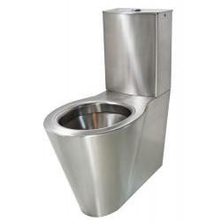 WC à poser OPTIMA monobloc inox brossé