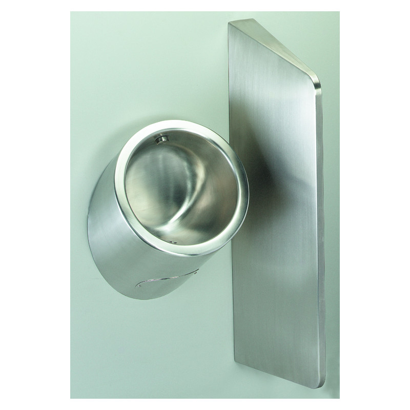 Photo Urinal men stainless steel wall hung URI-ONE UR-01