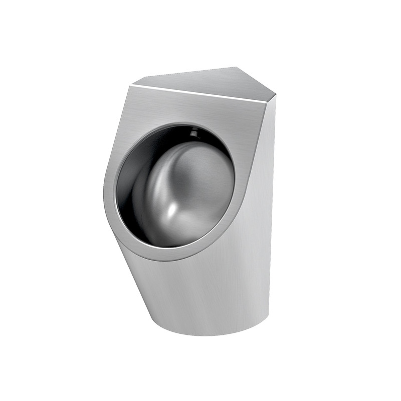 Photo Corner urinal stainless steel URBA UR-11A