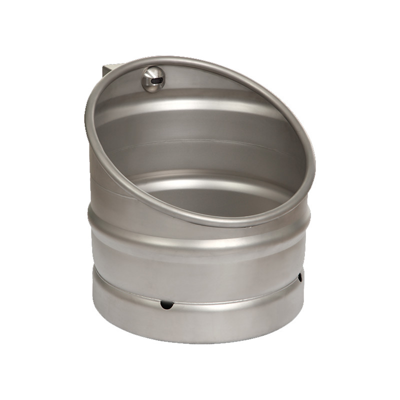 Photo Urinal beer keg design stainless steel with automatic trigger UR-30-ET