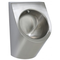 Miniature-2 Wall mounted urinal stainless steel automatic flush vandal proof URBA UR-11-TH