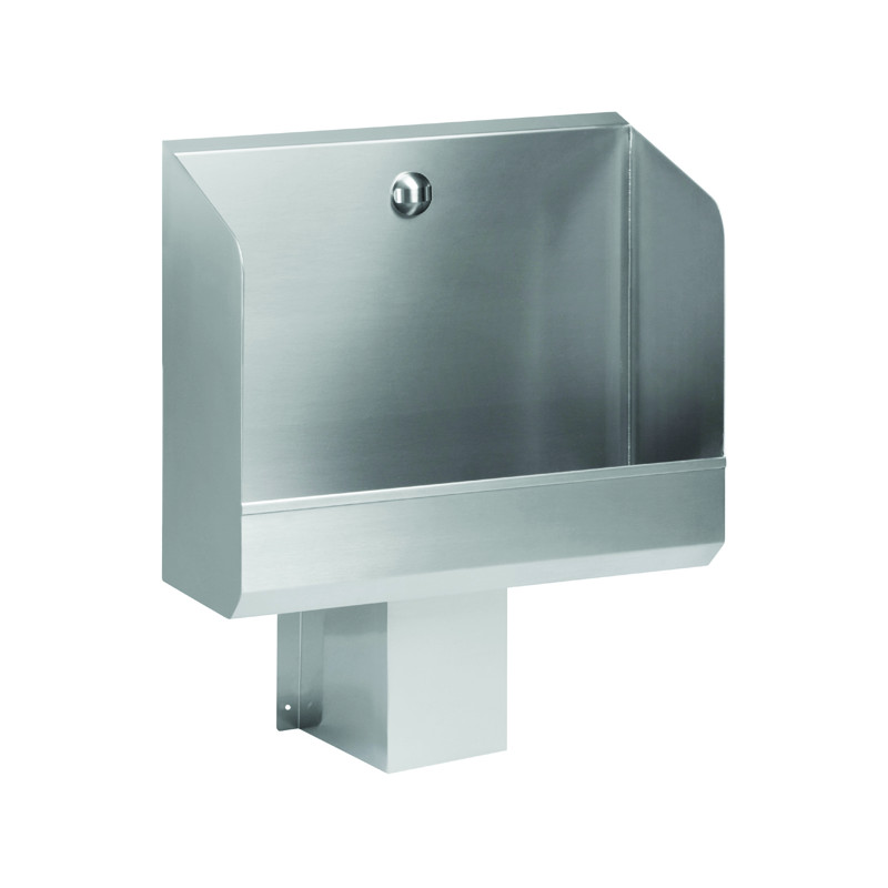 Photo Wall urinal stainless steel large automatic flush integrated SPN-1T