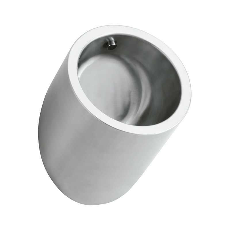Photo Urinal for men vandal proof stainless steel design cylinder UR-01-TC