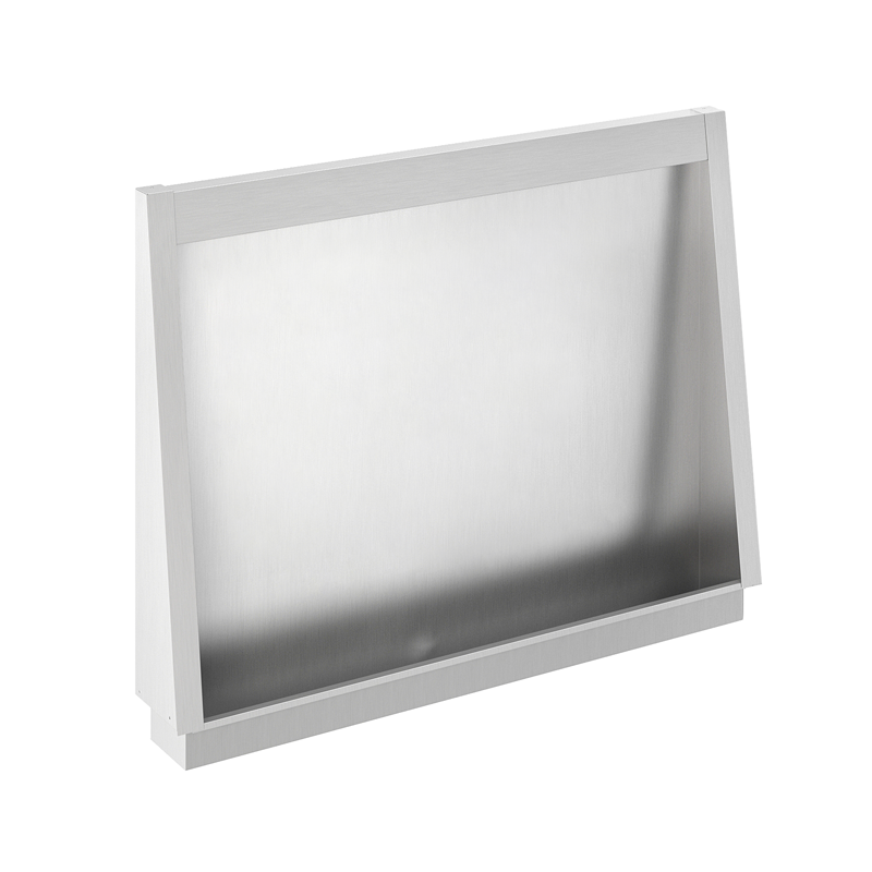 Photo Urinal stall stainless steel recessed URPX-600