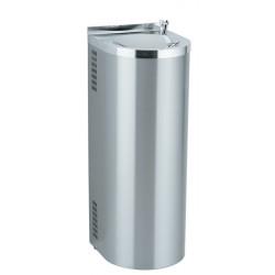 Enfriador de agua refrigerado de acero inoxidable sobre soporte