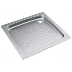 Bac à douche inox à encastrer et sceller