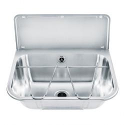 Lavabo multifuncional de acero inoxidable con revestimiento
