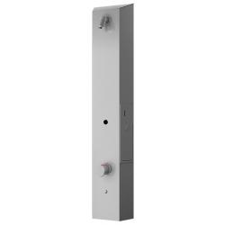 Panel de ducha termostático de acero inoxidable con temporizador