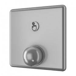 Recessed shower tap with...