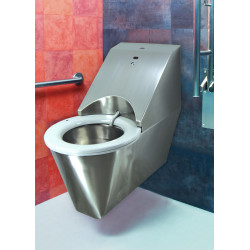 Miniature-1 Automatic stainless steel toilet for the disabled HYGISEAT SUP1106