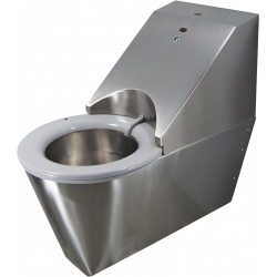 HYGISEAT stainless steel suspended self-cleaning toilet for the disabled