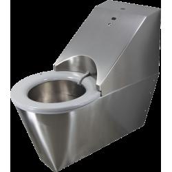 Miniature-0 WC autonettoyant suspendu inox HYGISEAT handicapé SUP1106-SUP1066