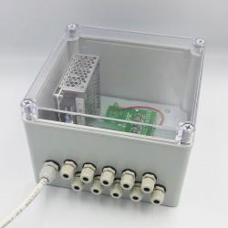 Caja de transformación para la conexión de los grifos