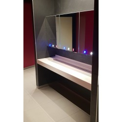 Miniature-2 Mirror modules for sanitary facilities with a clean design, designed for intensive use RES-850