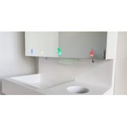 Miniature-2 Cycle de lavage, séchage et désinfection des mains sans contact pour collectivités RES-868