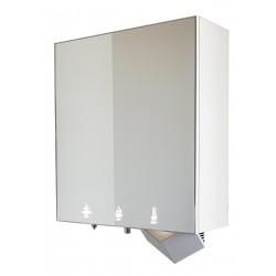 Module miroir 3 en 1 sans contact, avec distributeur de savon, robinet eau et sèche-mains Dyson Airblade intégrés