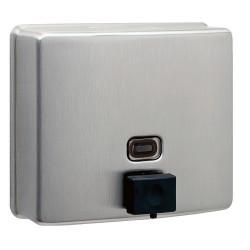 Dispensador de jabón líquido de pared de acero inoxidable con llenado de bomba anticorrosión