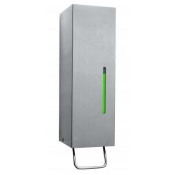 Dispensador de jabón líquido de acero inoxidable montado en la pared con palanca profesional