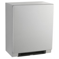 Automatic, Universal Surface-Mounted Roll Towel Dispenser Equipped with LED Light