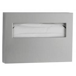 Dispensador de papel de tapa de inodoro de acero inoxidable