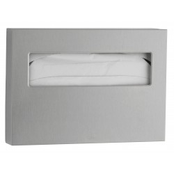 Stainless steel paper seat cover dispenser toilet seat