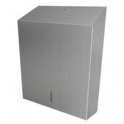Dispensador de toallas de papel de pared de acero inoxidable O-MEGA de gran capacidad