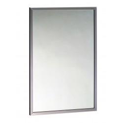 Espejo con marco de acero...