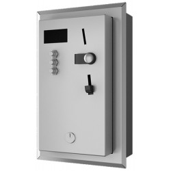 Stainless steel built-in shower timer for up to 12 users