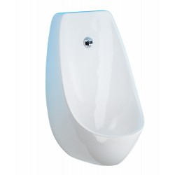 Urinal without flange and large pan Domino automatic