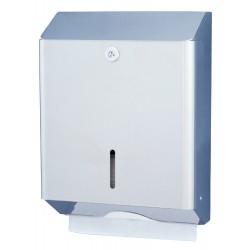 Distributeur papier main inox pour collectivités et WC publics