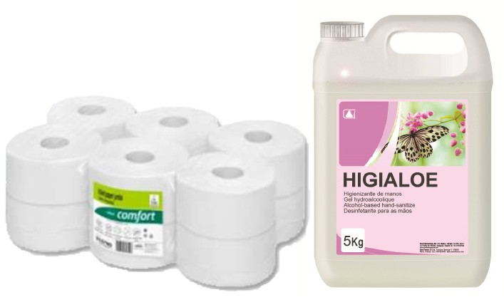Paper and soap consumables