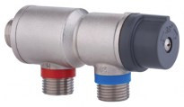 Thermostatic mixing tap