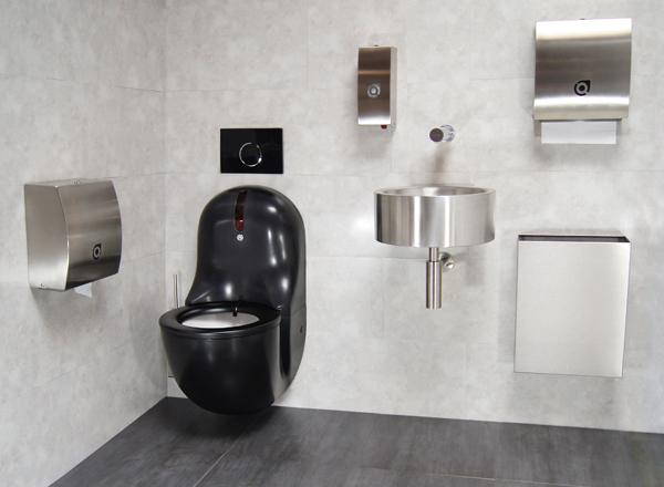 WC-noir-suspendu-automatique-HYGISEAT